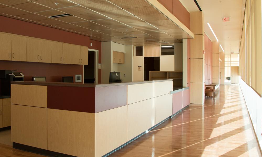 Imagen de la estación de enfermeras