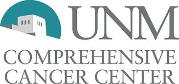 شعار مركز UNM الشامل للسرطان.