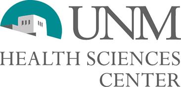 شعار مركز العلوم الصحية UNM.