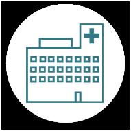 Icono de hospital.